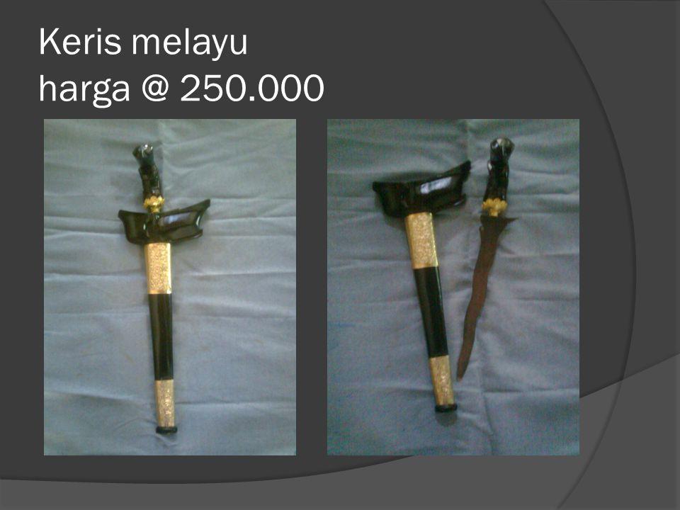 Keris kodian tuk souvenir,manten dll Harga @ Rp.100.000 ( Rp.800.000/kodi ) Harga @Rp.50.000 ( Rp.400.000/kd)