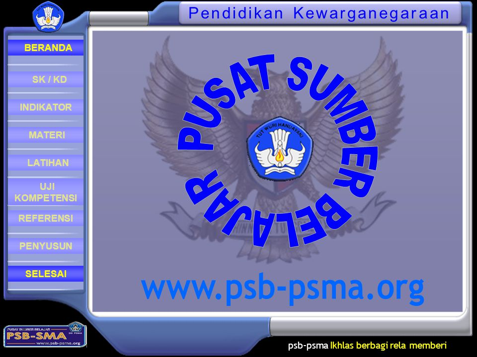 psb-psma Ikhlas berbagi rela memberi REFERENSI LATIHAN MATERI PENYUSUN INDIKATOR SK / KD UJI KOMPETENSI BERANDA SELESAIPKn Pendidikan Kewarganegaraan Kelas X BAB 3 Upaya Pemajuan, Penghormatan dan Penegakan HAM Di Indonesia