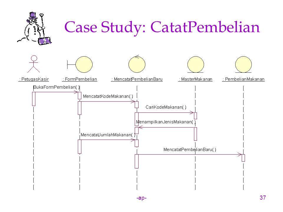 -ap-37 Case Study: CatatPembelian