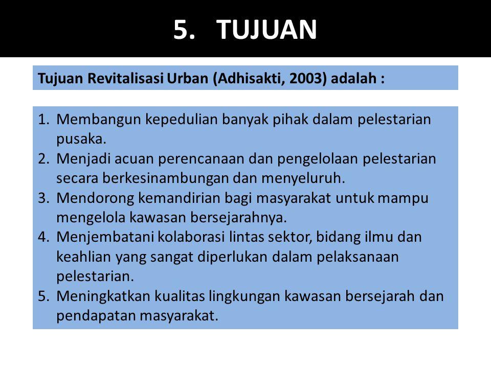 16.KLASIFIKASI KAWASAN REVITALISASI 1.