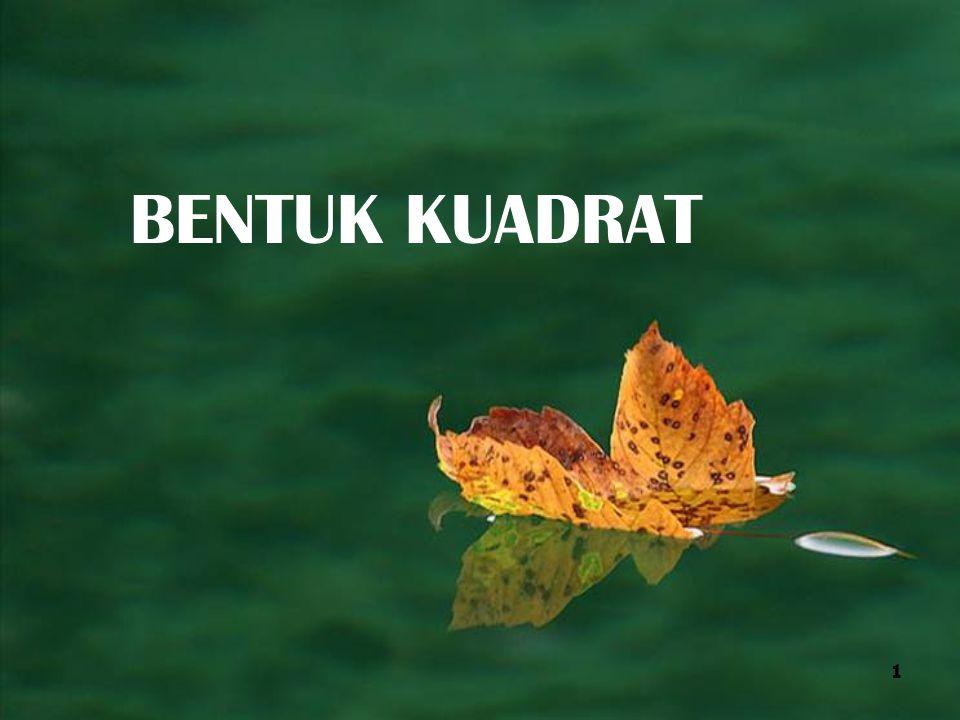 BENTUK KUADRAT 1