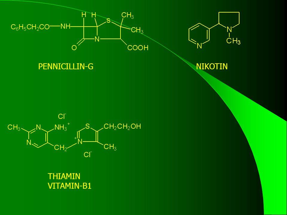 PENNICILLIN-GNIKOTIN THIAMIN VITAMIN-B1