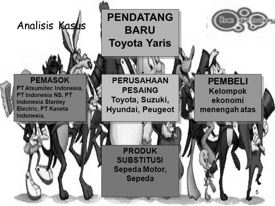 4 Yaris tantang jazz PT Toyota Astra Motor (TAM) meluncurkan sedan mini Toyota Yaris. Mobil mini kelas 4X2 bermesin 1.500 cc ini diharapkan bisa menya