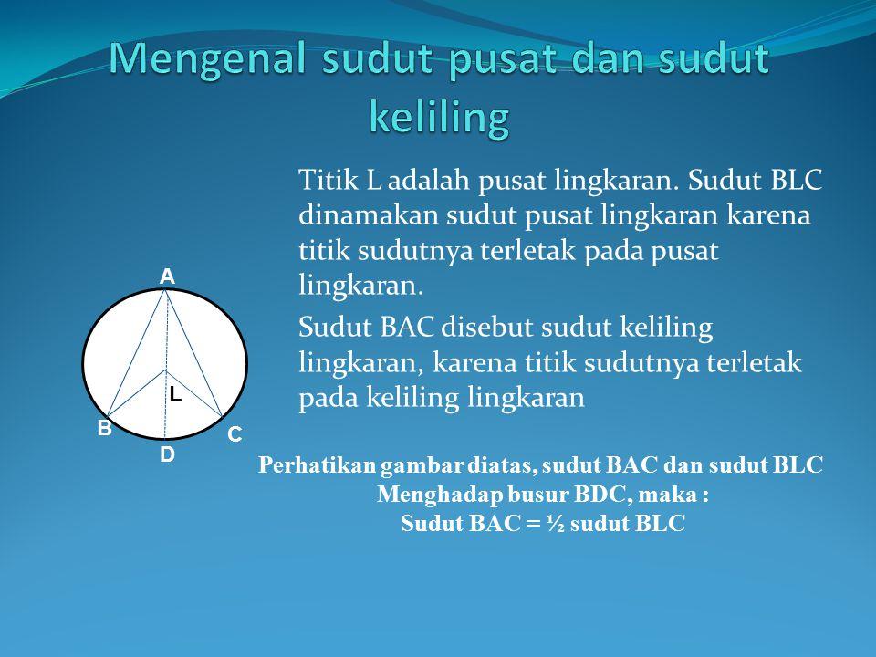 Luas Lingkaran Adalah luas daerah yang dibatasi oleh lengkung lingkaran.