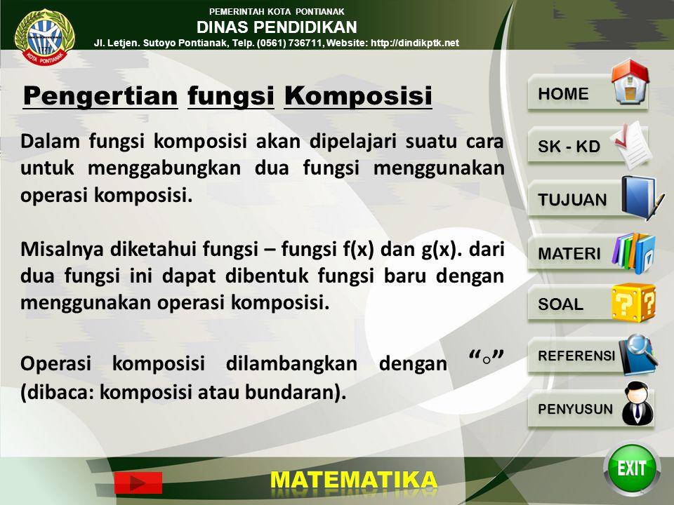 PEMERINTAH KOTA PONTIANAK DINAS PENDIDIKAN Jl. Letjen. Sutoyo Pontianak, Telp. (0561) 736711, Website: http://dindikptk.net Tujuan Pembelajaran: 1.Pes