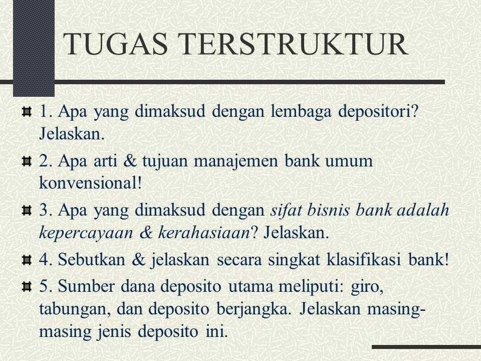 KONDISI BANK UMUM KONVENSIONAL DI INDONESIA Indikator Utama 200420052006Maret 2007Juni 2007September 2007 Aset Total (Rp triliun) 1.272,31.469,81.693,