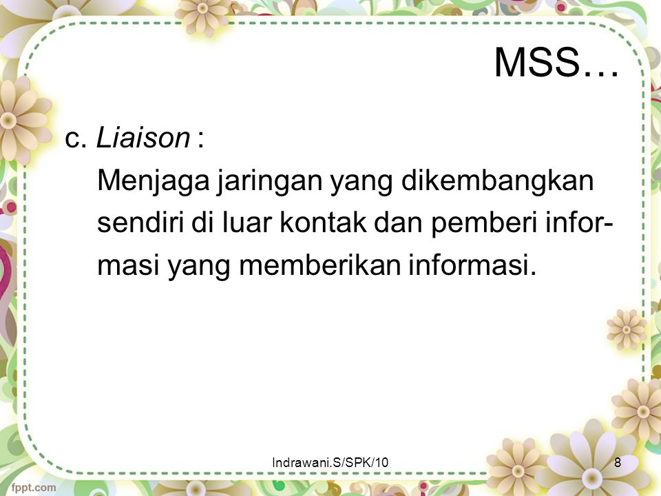 MSS..e. Expert Systems (ES) f. Executive Information Systems (EIS) g.
