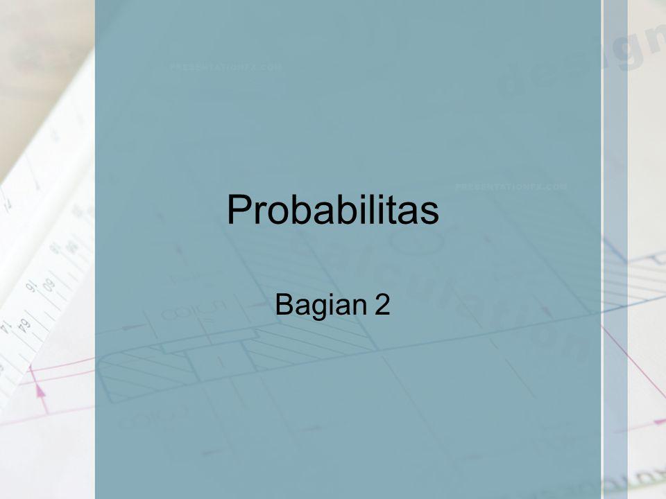 Probabilitas Bagian 2