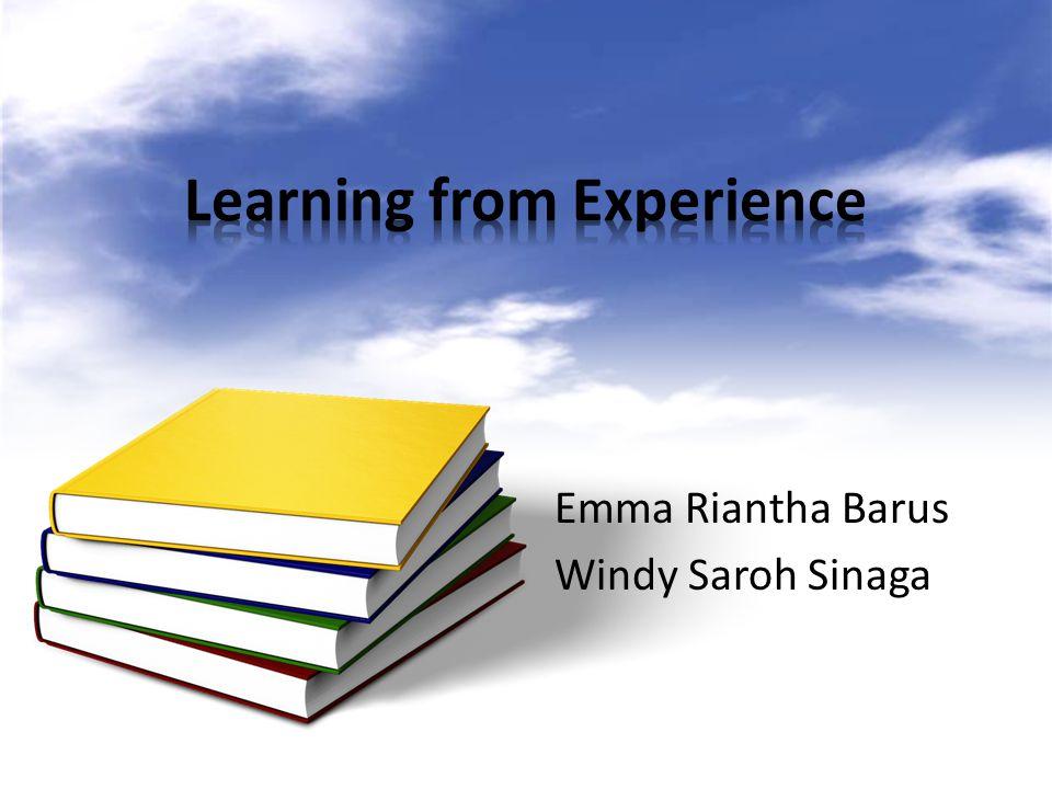 1.Definisi belajar dari pengalaman 2.Tipe-tipe dari pengalaman 3.Manfaat belajar dari pengalaman 4.Tips-tips belajar dari pengalaman 5.Kesimpulan 6.Referensi