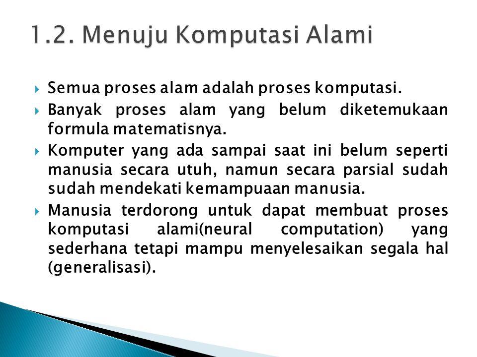 Semua proses alam adalah proses komputasi.
