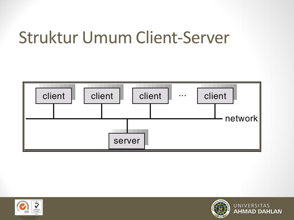 25 Struktur Umum Client-Server