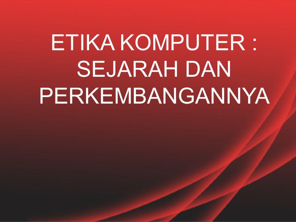 TANGGUNG JAWAB PROFESI  MUNCUL ORGANISASI PROFESI  DI INDONESIA : IPKIN (IKATAN PROFESI KOMPUTER DAN INFORMATIKA, 1974)  KODE ETIK PROFESI SEBAGAI BENTUK TANGGUNG JAWAB PROFESI