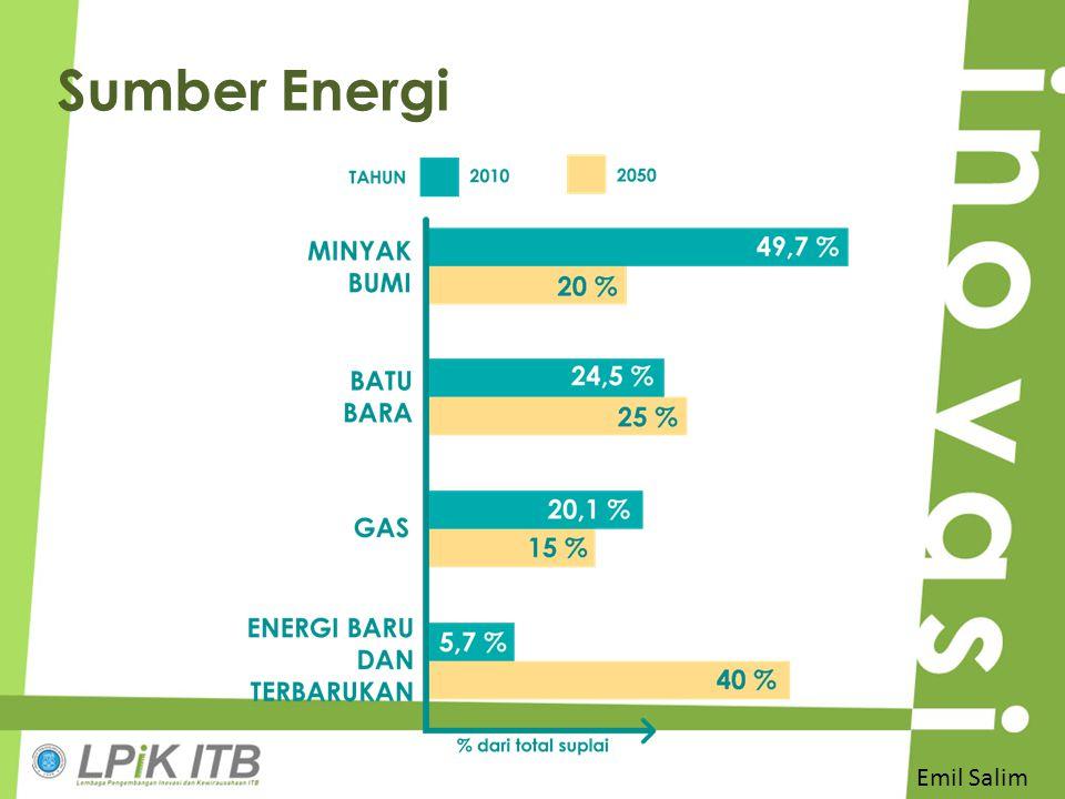 Sumber Energi Emil Salim