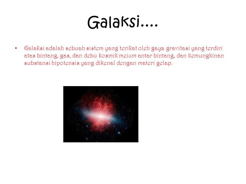 Galaksi....