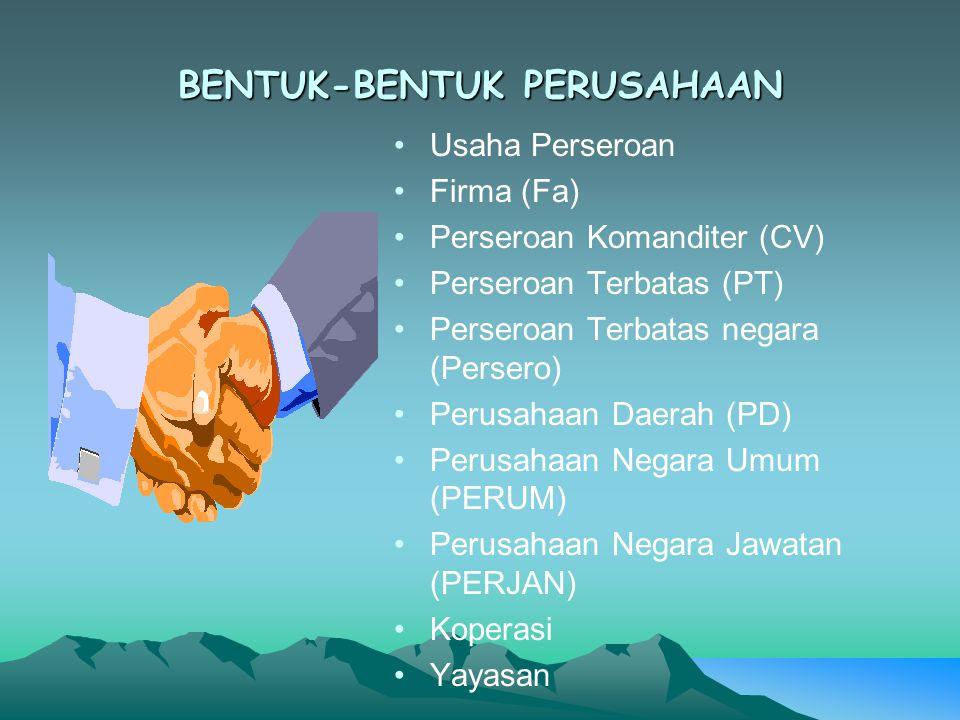 Perseroan Terbatas Negara (Persero) Merupakan salah satu bentuk perusahaan milik Negara yang sebelumnya bernama Perusahaan Negara (PN).