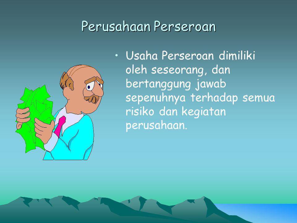 Dasar Hukum Dasar hukum yang menciptakan perubahan bentuk dari Perusahaan Negara menjadi Persero adalah : Instruksi Presiden Republik Indonesia Nomor 17 tanggal 28 Desember 1967 Peraturan Pemerintah Pengganti Undang – Undang Nomor 1 tahun 1969 Peraturan Pemerintah Republik Indonesia Nomor 12 tahun 1969