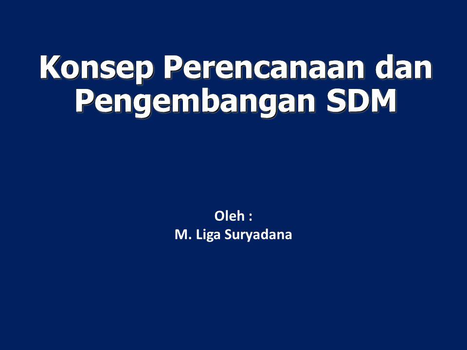 Konsep Perencanaan dan Pengembangan SDM Oleh : M. Liga Suryadana