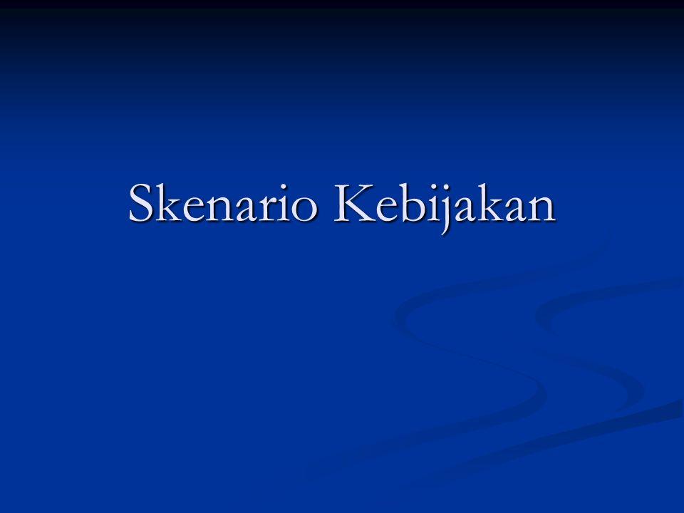 Konsep Skenario Skenario merupakan langkah-langkah hipotetik yang difokuskan pada proses-proses kausalitas dan titik-titik kritis keputusan.