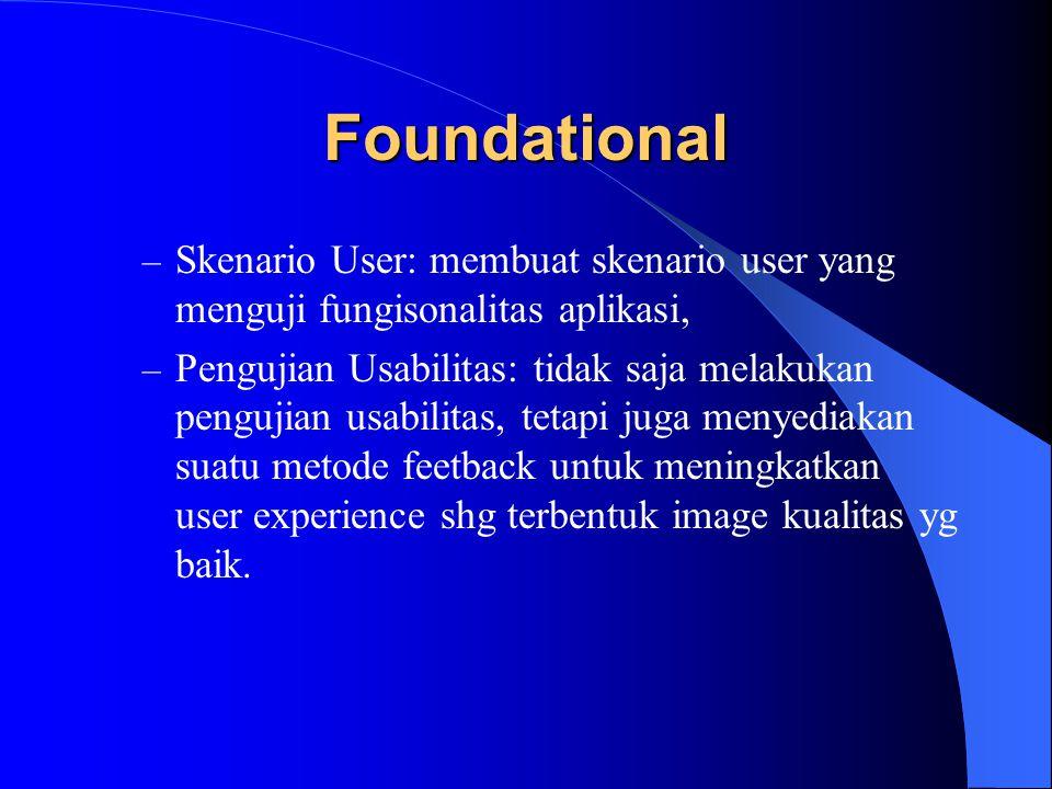 Foundational (2) – Requirements dalam perencanaan test.