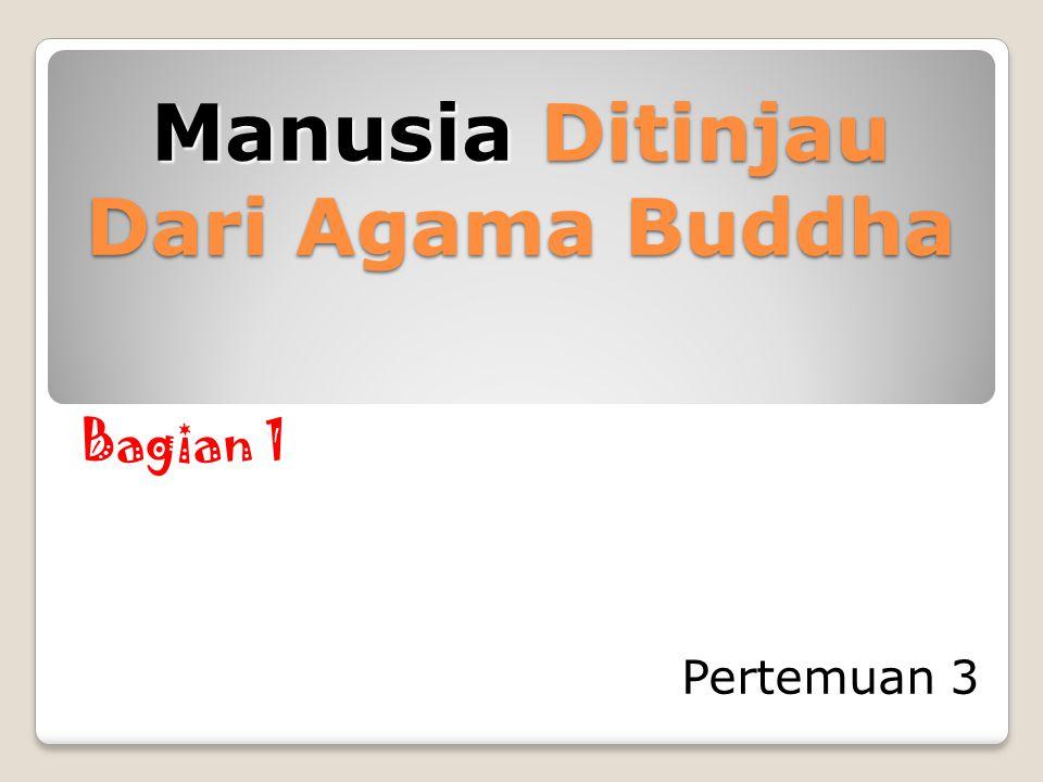 Manusia Ditinjau Dari Agama Buddha Pertemuan 3 Bagian 1