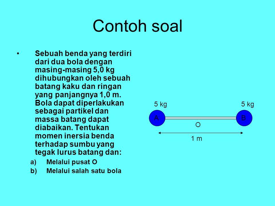 Soal Keping yoyo (200 gram) bergerak ke bawah melepaskan diri dari lilitan talinya.