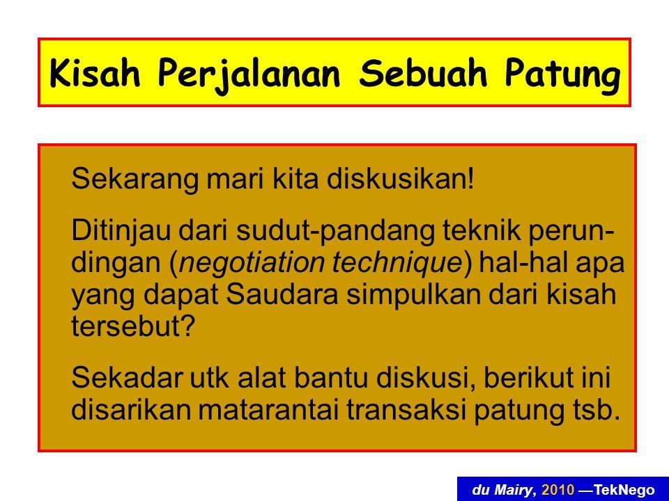 du Mairy, 2010 —TekNego Kisah Perjalanan Sebuah Patung Sekarang mari kita diskusikan.
