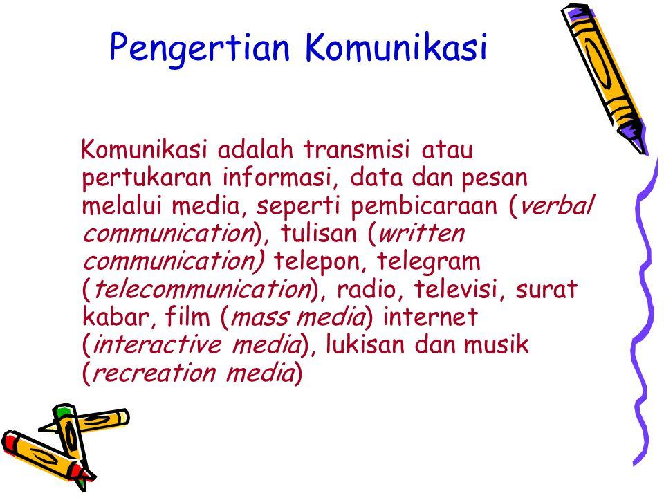 Pengertian Informasi Informasi adalah pengetahuan yang akan disampaikan oleh pemiliknya.