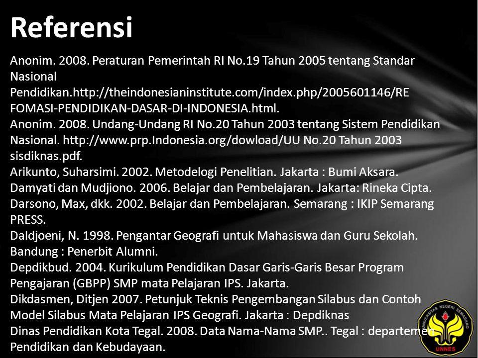 Referensi Anonim. 2008.