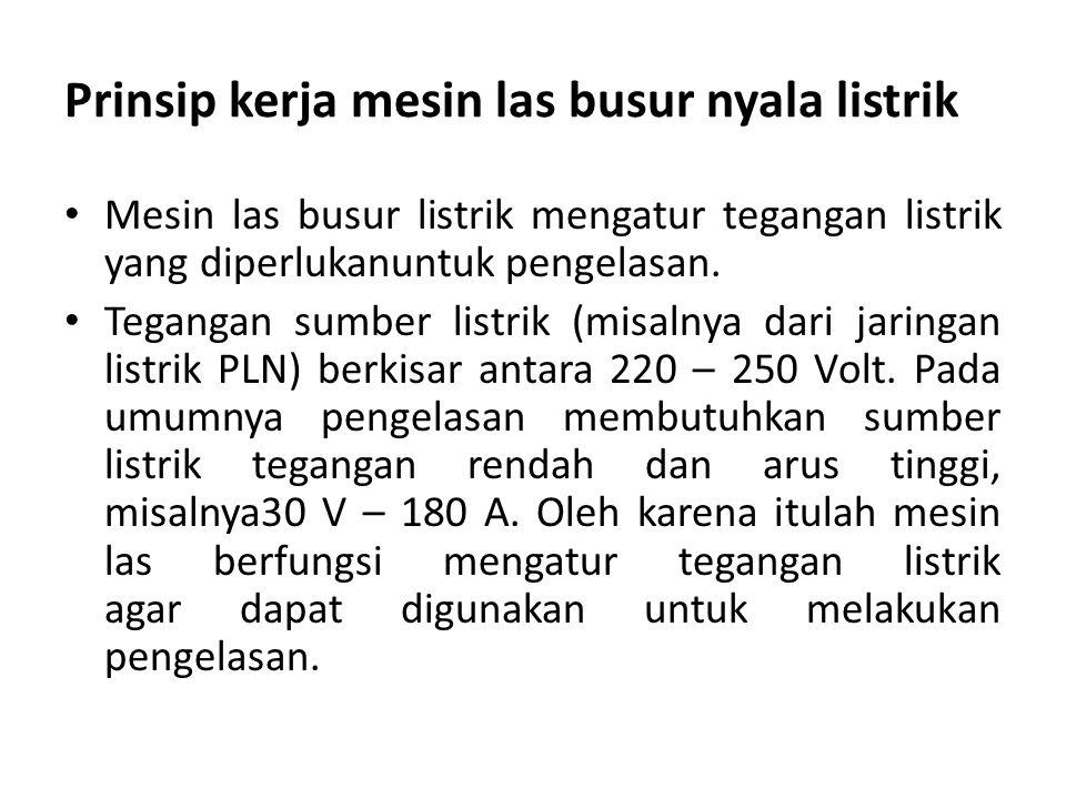 Menurut JIS Ditandai dengan Kode DXXXX D menyatakan elaktroda busur listrik XX (dua angka) sesudah D menyatakan kekuatan tarik deposit las dalam ribuan Kg/mm 2.