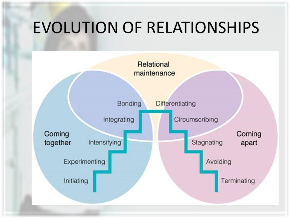EVOLUTION OF RELATIONSHIPS