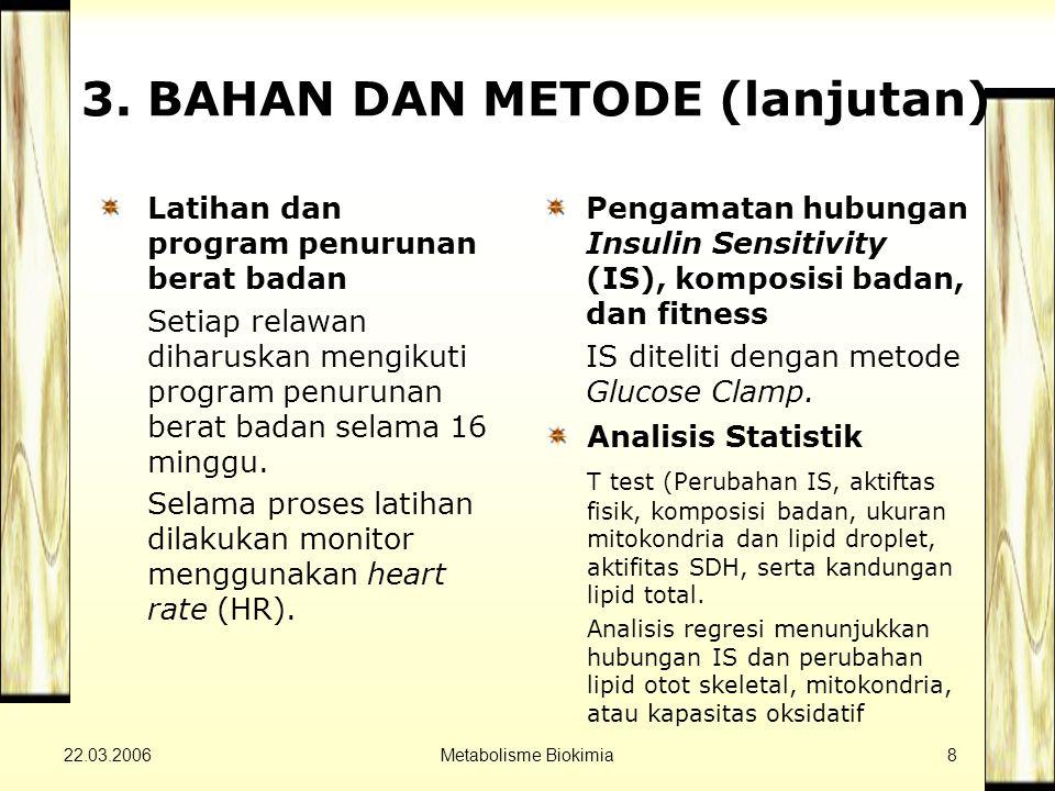 22.03.2006Metabolisme Biokimia9 4.