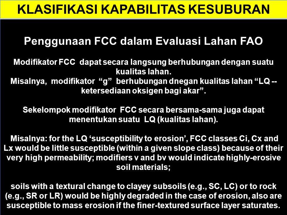 Problematik dengan FCC Kelemahannya adalah kodifikasi tidak konsisten, terutama revisi yg dilakukan oleh Smith.