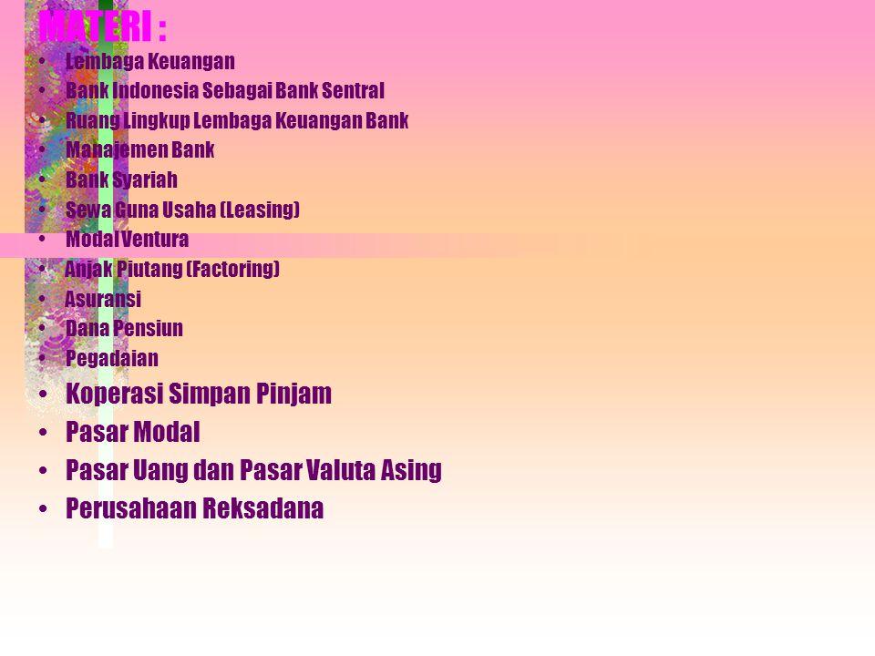 Copyright, 2005 © Hisyam Lembaga Keuangan Bank dan Lembaga Keuangan Lainnya Literatur Kasmir,SE., MM ; Drs.