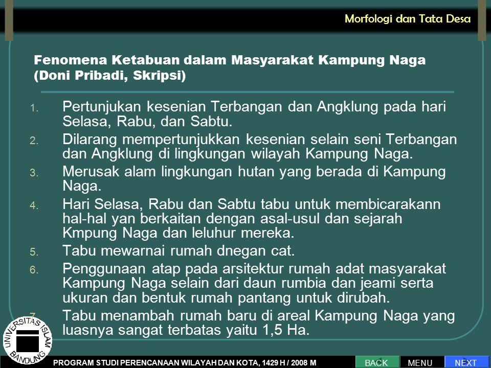 Fenomena Ketabuan dalam Masyarakat Kampung Naga (Doni Pribadi, Skripsi) 1.