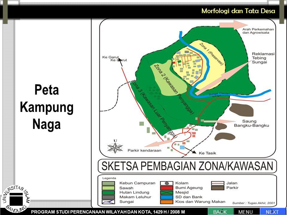 Peta Kampung Naga