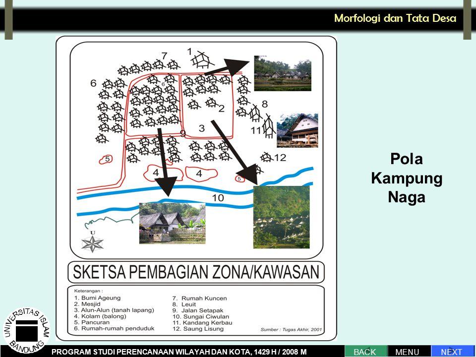 Pola Kampung Naga