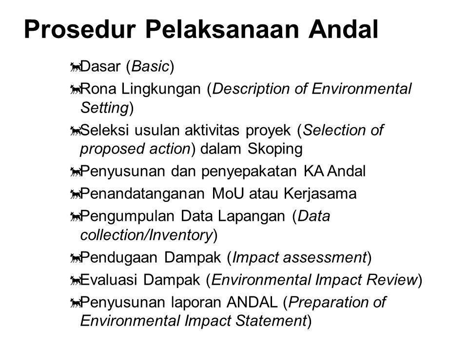 Rona Lingkungan Adalah penyusunan gambaran keadaan lingkungan di tempat proyek atau kegiatan yang akan dibangun dan di daerah sekitar proyek tersebut.