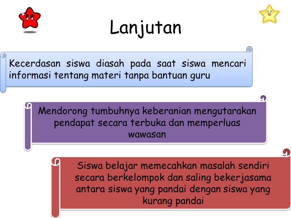  Hisyam Zaini,Bermawy Munthe,Sekar Ayu Aryani.2002. Strategi Pembelajaran Aktiv .Yogyakarta:CTSD  Dimyati dan Mudjiono,Belajar dan Pembelajaran,(Jakarta:Rineka Cipta,1999) (Online : http://alone- education.blogspot.com/2011/12/Strategi pembelajaran ISQ learning.html/11.00)http://alone- education.blogspot.com/2011/12/Strategi pembelajaran ISQ learning.html/11.00