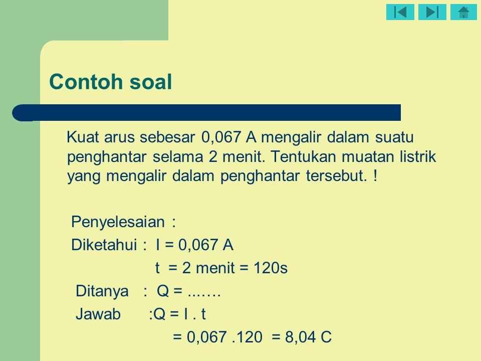 ρ 1 = hambatan jeis pada suhu tºC ρ 0 = hambatan jeis pada suhu 0ºC ∆T = perubahan suhu (ºC ) α = koefisien suhu hambatan jenis (/ºC ) ∆ρ = perubahan hambatan jenis ρ 1 = ρ 0 (1 + α.