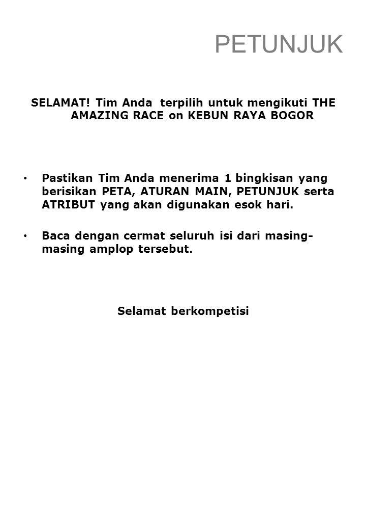 PERTANYAAN  Siapakah nama Direktur Kebun Raya Bogor saat ini.