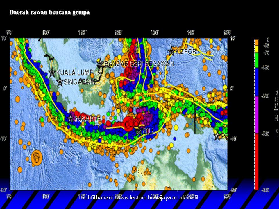 Daerah rawan bencana tsunami nuhfil hanani : www.lecture.brawijaya.ac.id/nuhfil