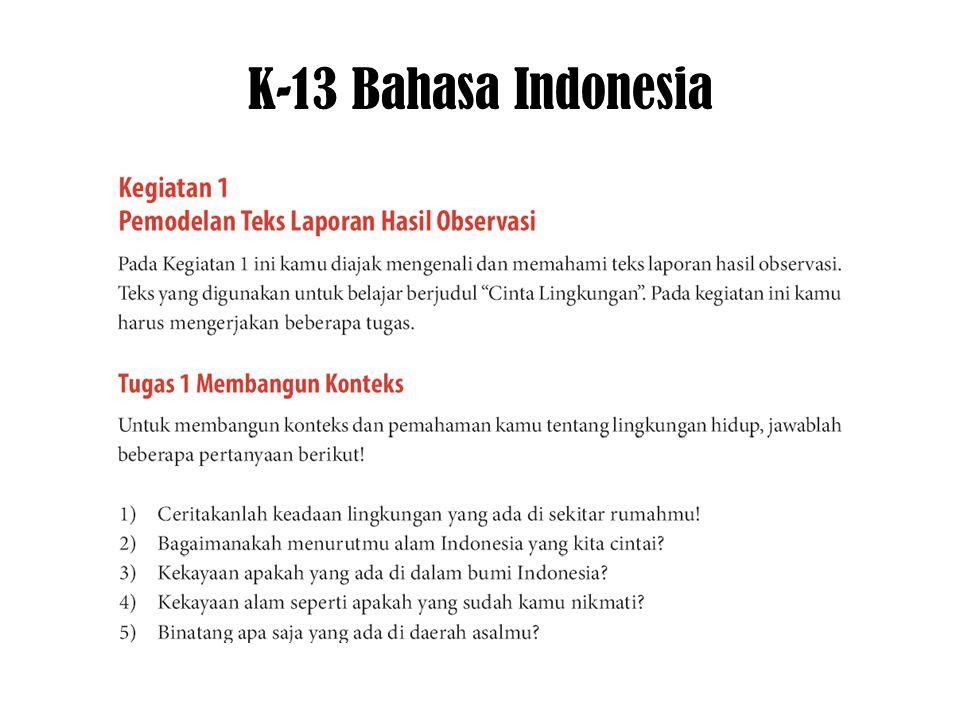K-13 Bahasa Indonesia