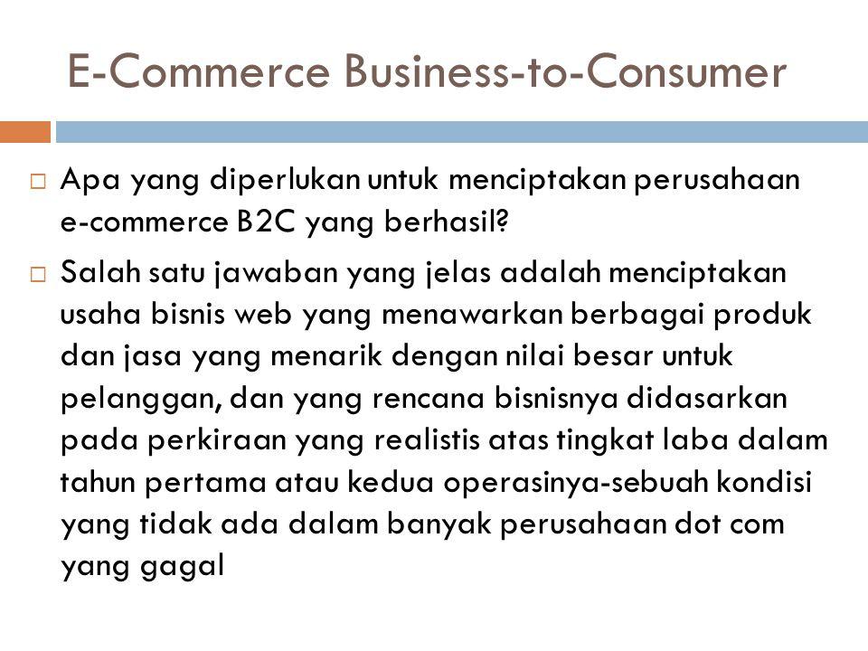 Contoh beberapa situs web terkemuka Situs Web Terkemuka Amazon.com (www.amazon.com)www.amazon.com Amazon.com adalah perkecualian aturan bahwa pelanggan cenderung membeli dari peritel dunia nyata secara online.