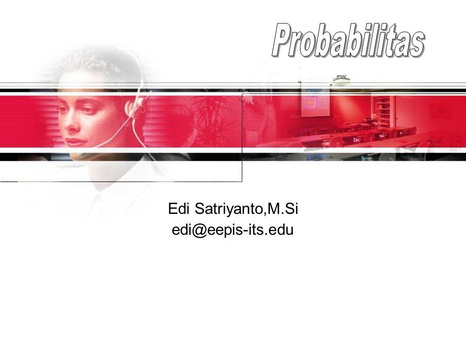Edi Satriyanto,M.Si edi@eepis-its.edu