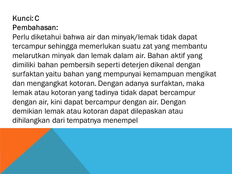 Soal 31 Indikator SKL : Menjelaskan sistem pernapasan pada manusia/penyakit yang berhubungan dengannya.