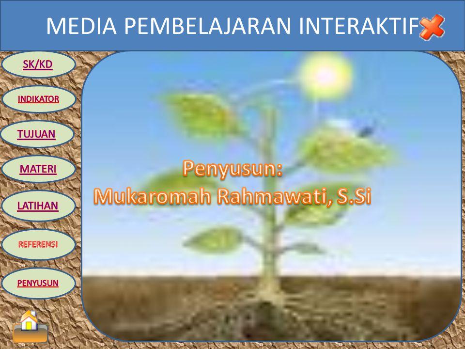 MEDIA PEMBELAJARAN INTERAKTIF TUGAS INDIVIDU 1.Sebutkan dan jelaskan persamaan reaksi fotosintesis secara lengkap! 2.Sebutkan dan jelaskan macam reaks