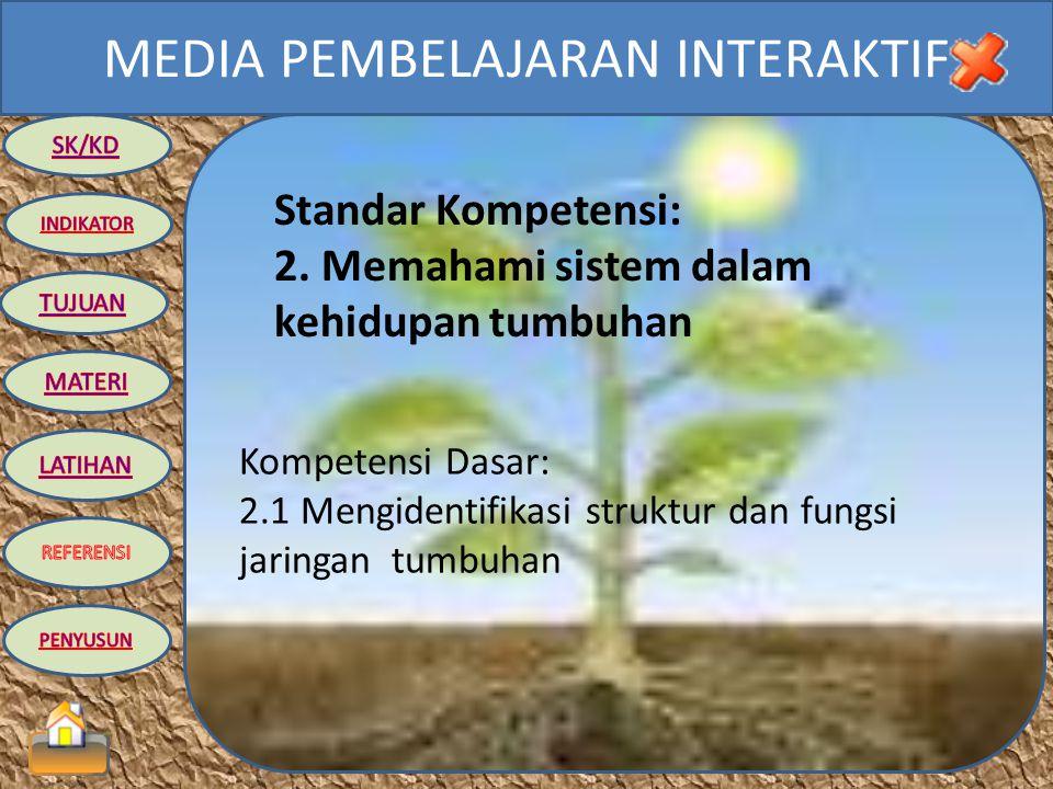MEDIA PEMBELAJARAN INTERAKTIF IPA BIOLOGI KELAS VIII SEMESTER 2