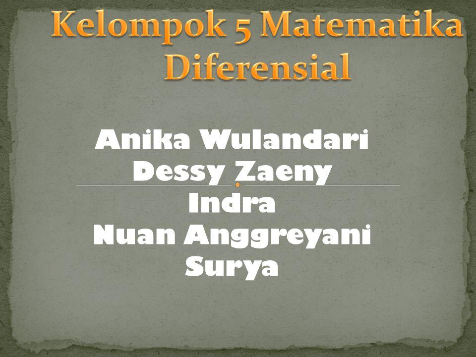 Anika Wulandari Dessy Zaeny Indra Nuan Anggreyani Surya