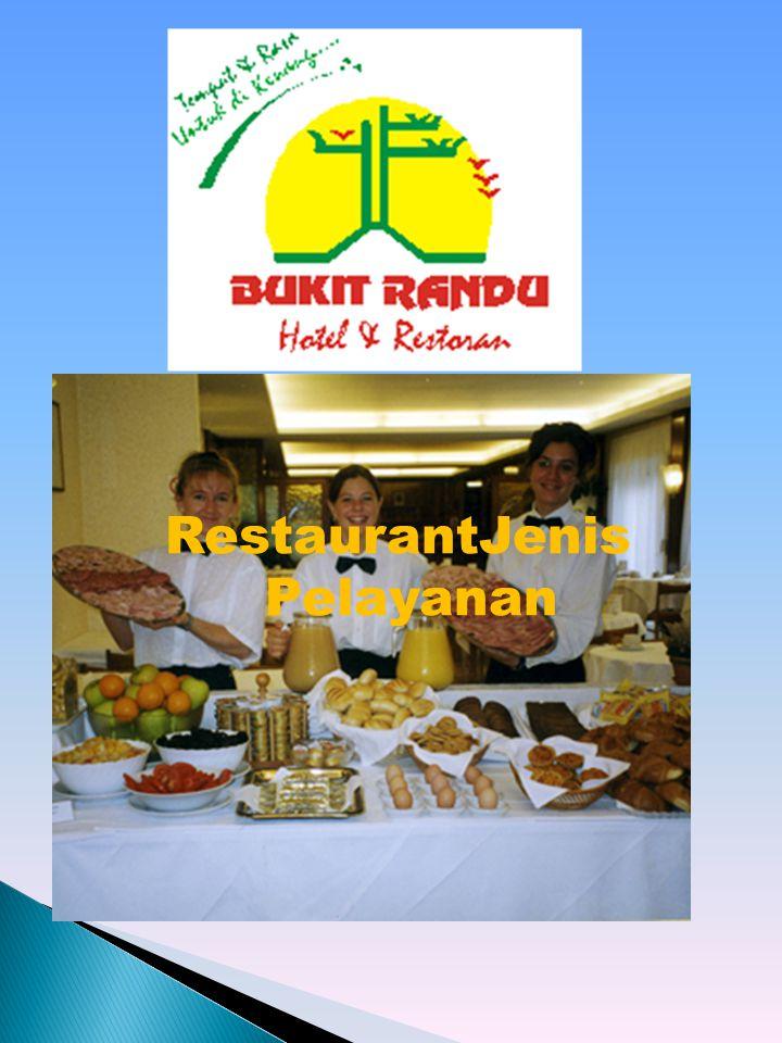  adalah pelayanan dimana makanan di porsikan, ditata dan di hias dalam satu tempat dengan porsi untuk satu orang.