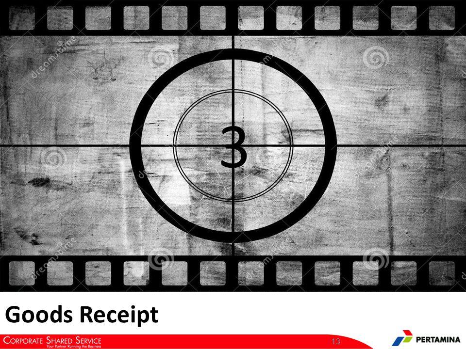 13 3 Goods Receipt